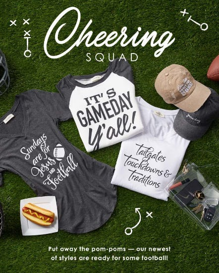 Gameday Gear from Versona Accessories