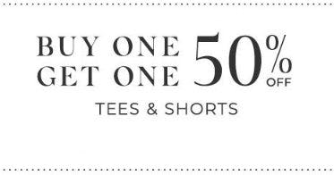 Buy One, Get One 50% Off Tees & Shorts from Lane Bryant