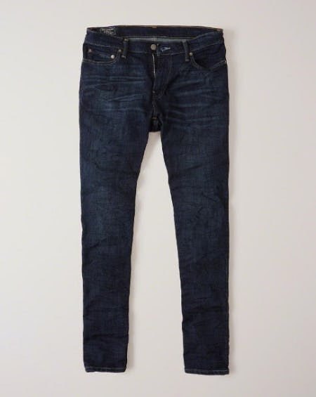 Athletic Skinny Jeans from Abercrombie & Fitch