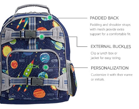 Hold-It-All Backpacks from Pottery Barn Kids