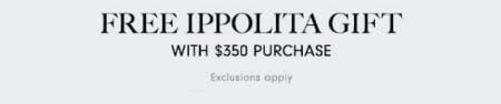 Free Ippolita Gift with $350 Purchase
