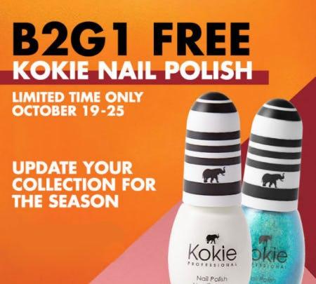 B2G1 Free Kokie Nail Polish