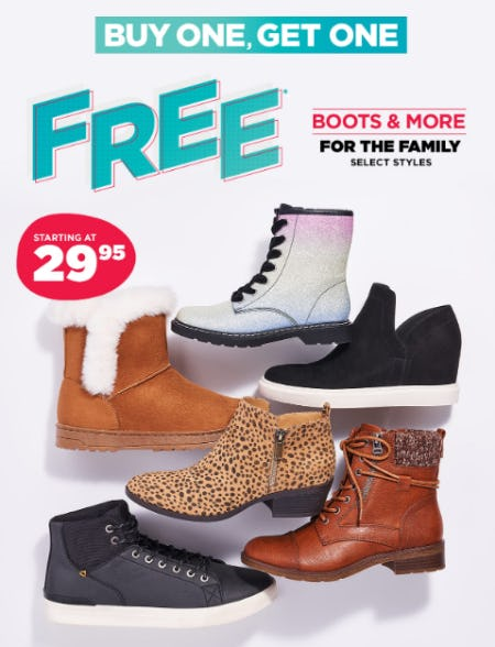 BOGO Free Boots for the Family from Nordstrom Rack