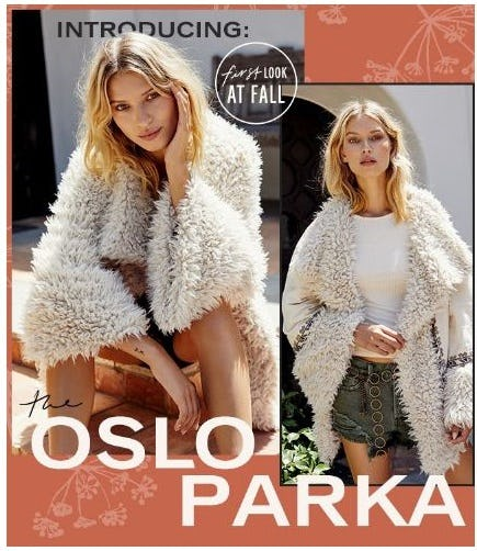 Introducing the Oslo Parka from Free People