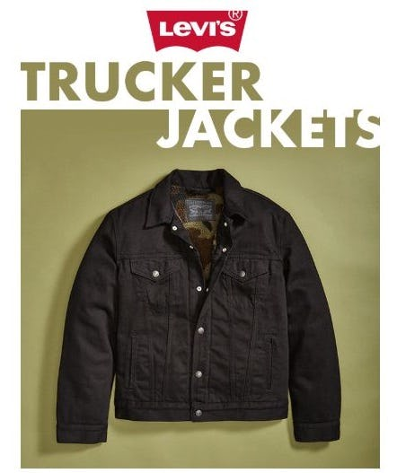 Organic, Iconic, Limited Levi's® Trucker Jackets from Eblens Clothing and Footwear