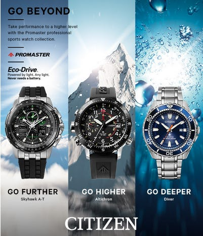 Promaster Professional Sports Watch Collection