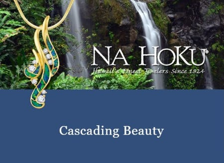 Flowing with Elegance: Waterfall Pendant from Na Hoku