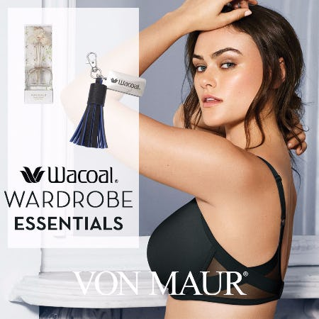 Wacoal Wardrobe Essentials Fit Event from Von Maur