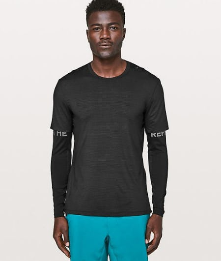 Explicit Content Long Sleeve  Reflective from lululemon