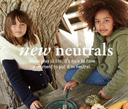 New Neutrals from abercrombie kids
