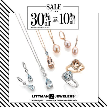 Veterans Day Sale from Littman Jewelers