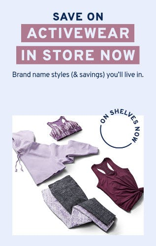 Save on Activewear