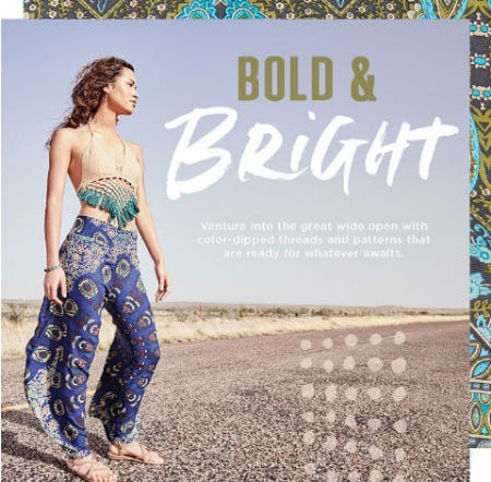 Bold & Bright from Earthbound Trading Co