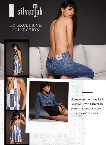 The Levi's SilverTab Collection from Urban Outfitters