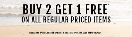 Buy 2, Get 1 Free on All Regular Priced Items from Torrid