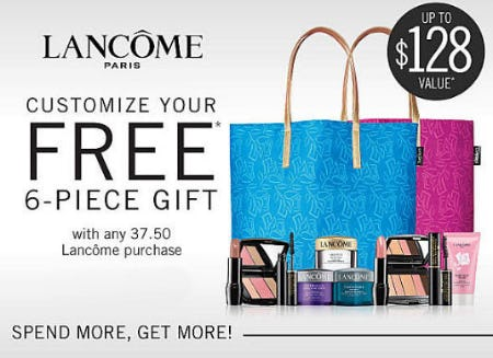 Free 6-Piece Gift with Lancome Purchase from Belk Men's