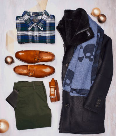 Dress for The Holidays from Allen Edmonds