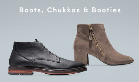 Shop Our Boots, Chukkas & Booties from Cole Haan