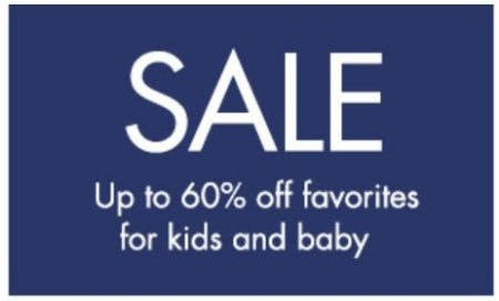 Up to 60% Off Sale from Pottery Barn Kids
