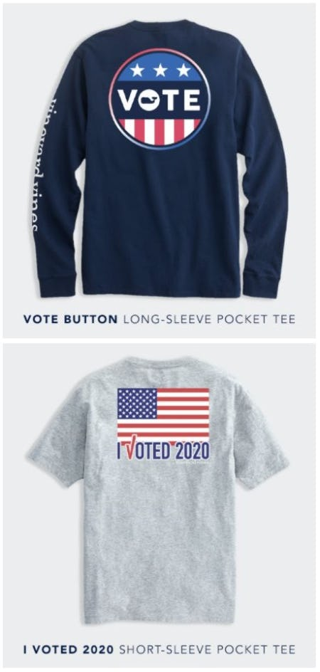 New Limited-Edition Vote Tees