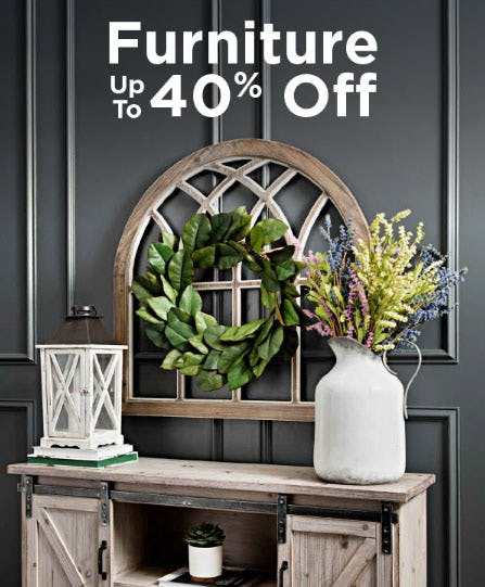 Up to 40% Off Furniture from Kirkland's