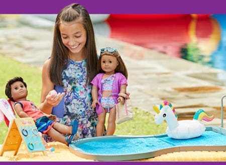 Bring Home Our New Pool Set from American Girl