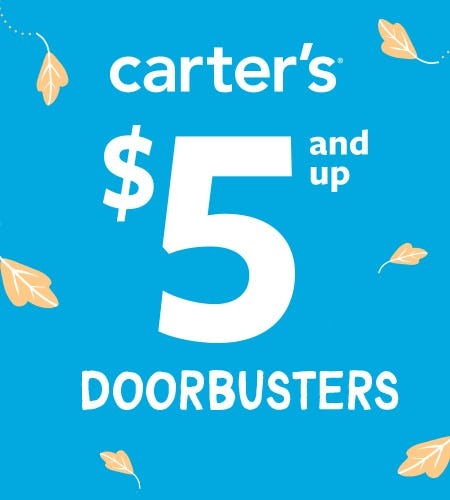 $5 & Up Doorbusters from Carter's Oshkosh