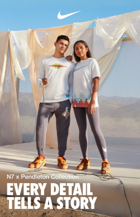 The New N7 x Pendleton Collection from Nike