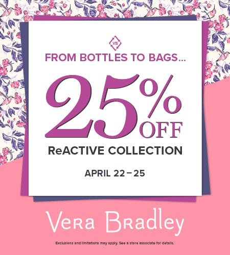 Sustainable Switch from Vera Bradley