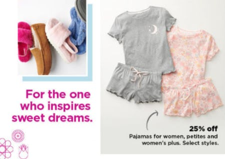 25% Off Pajamas for Women, Petites & Women's Plus from Kohl's