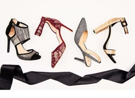 Festive All-Black Styles from DSW Shoes