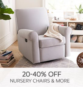 20-40% Off Nursery Chairs & More from Pottery Barn Kids