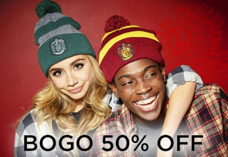 BOGO 50% Off Hats from Spencer's Gifts