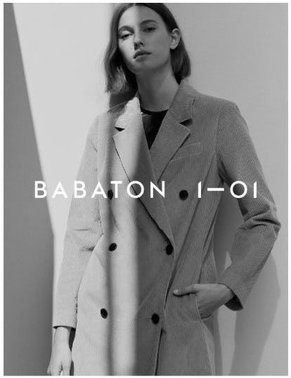 The New Babaton 1–01 Is Here from Aritzia