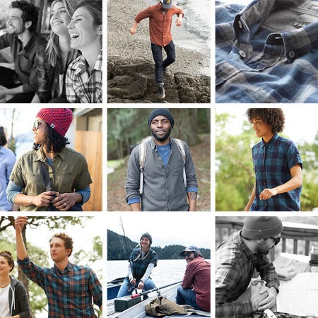 The Perfect Summer to Fall Shirt from Eddie Bauer