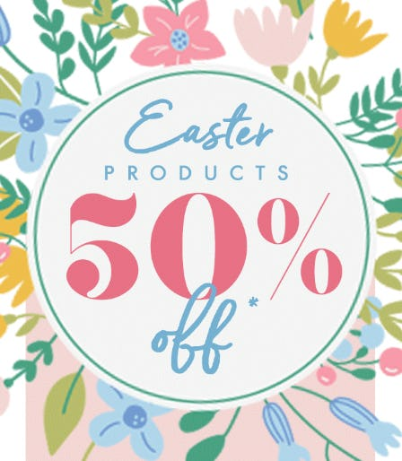 50% Off Easter Products