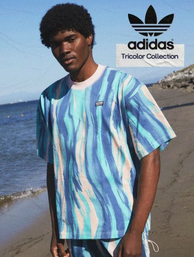 New & Goin' Fast: Adidas Tricolor Collection from Pacific Sunwear