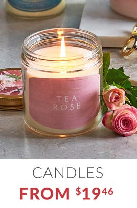 Candles from $19.46 from Sur La Table