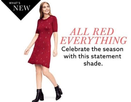 All Red Everything from Lord & Taylor
