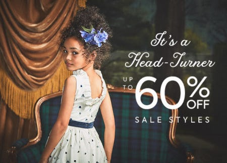 Up to 60% Off Sale Styles from Janie and Jack