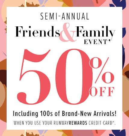 50% Off Friends & Family from New York & Company