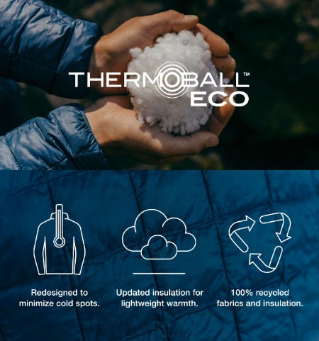 Reintroducing the ThermoBall™ Eco from The North Face