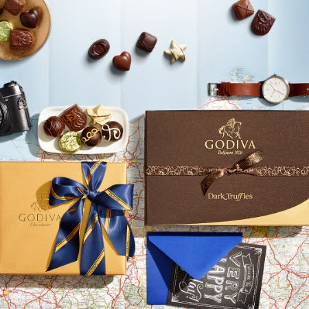 Last Minute Father's Day Gifts! from Godiva Chocolatier