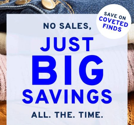Save on Coveted Finds from Marshalls
