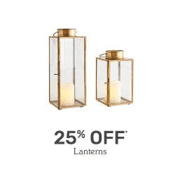 25% Off Lanterns from Pier 1 Imports