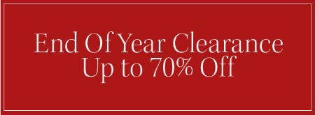 Up to 70% Off End of Year Clearance from Pottery Barn