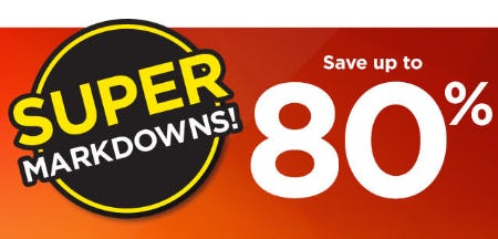 Up to 80% Off Super Markdowns from Kohl's