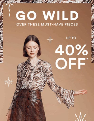 Up to 40% Off Must-Have Pieces from Saks Fifth Avenue