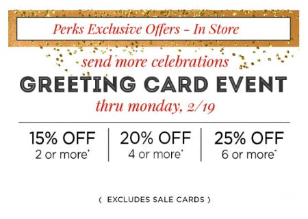 Up to 25% Off Greeting Card Event from PAPYRUS