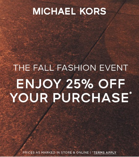 THE FALL FASHION EVENT